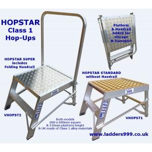 HopStar Class 1 HOP UP Folding Platforms