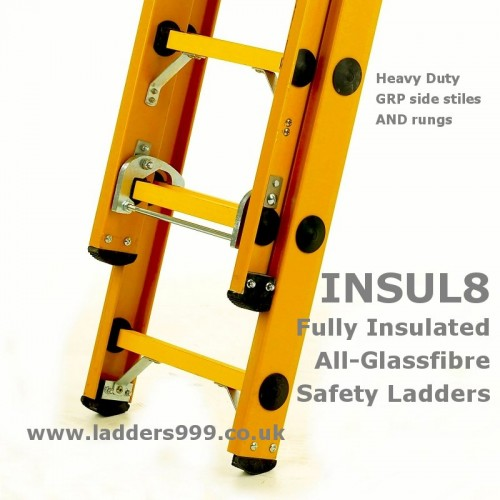 """""""Insul8""""  ALL-GLASSFIBRE Safety Ladders"""
