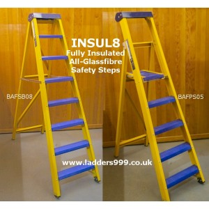 """""""Insul8"""" ALL-GLASSFIBRE Safety Steps"""