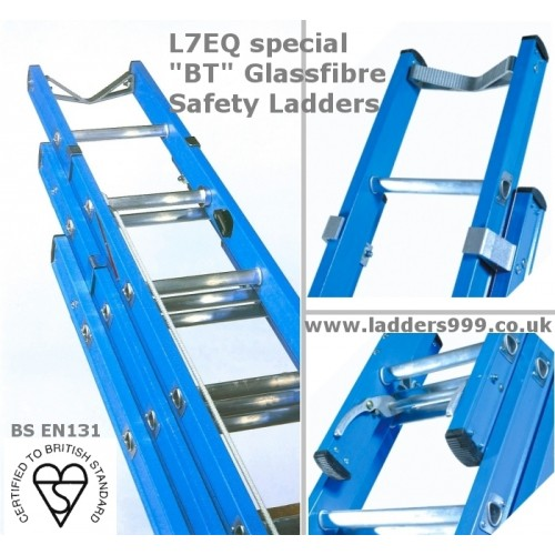 """Industrial """"BT"""" Telecomms Glassfibre Safety Ladders  **DISCONTINUED**"""