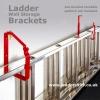 Ladder Wall Storage Brackets