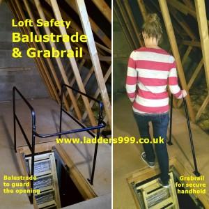 Loft Safety Balustrade & Grabrail