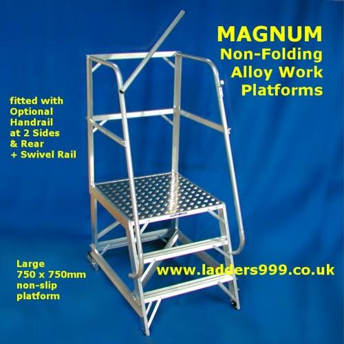 MAGNUM Alloy Non-Folding Platforms