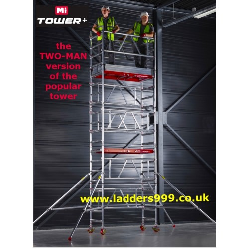 MiTOWER PLUS  Two Man Access Towers