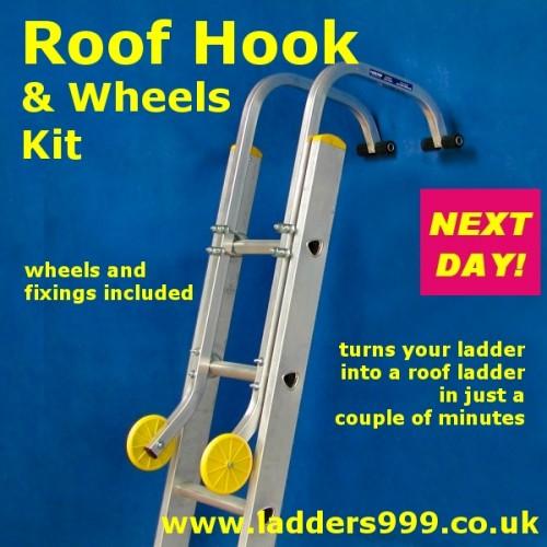 Roof Hook & Wheels Kit