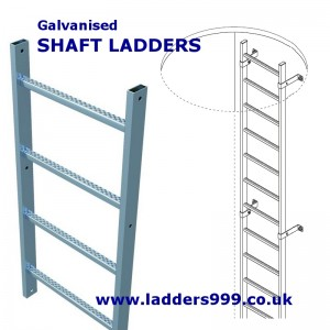 Galvanised SHAFT LADDERS