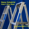 """""""HEAVY INDUSTRIAL"""" Class 1 Alloy Stepladders"""