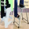 Plastic & Steel Step-Ups