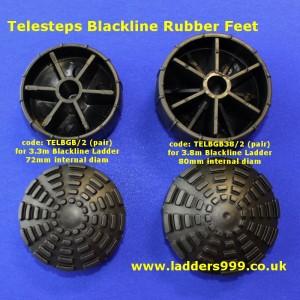 Telesteps Blackline Rubber Feet