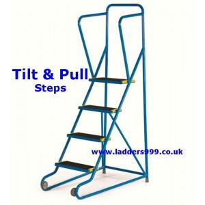 TILT & PULL Steel Steps