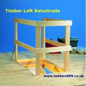 Timber Loft Balustrade