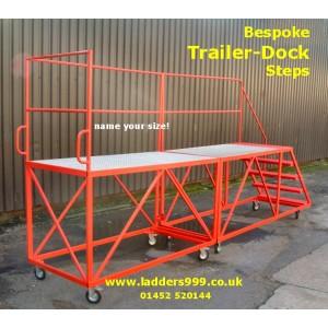 Bespoke Trailer Dock Steps