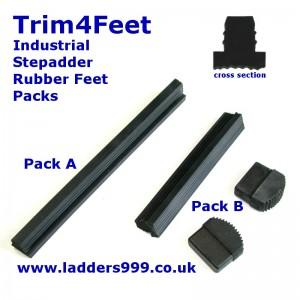 Trim4Feet Industrial Stepladder Feet