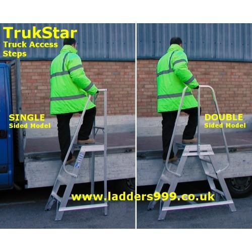 TRUKSTAR  Alloy Truck Steps