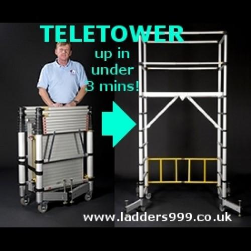 TELETOWER - World's 1st Telescopic Tower!