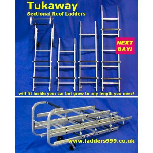 TUKAWAY Sectional Roof Ladders