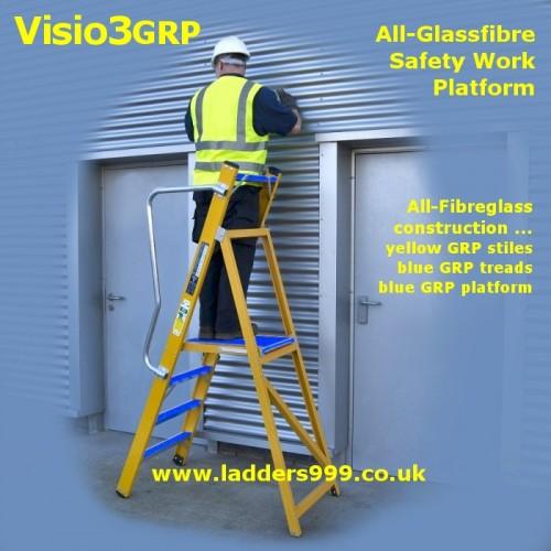 Visio3GRP   All-Glassfibre Safety Work Platforms