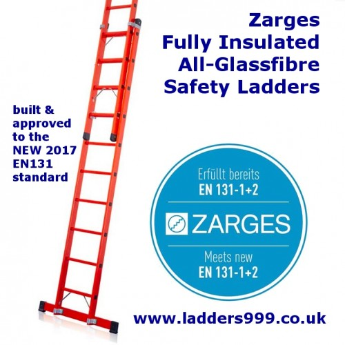 Zarges  ALL-GLASSFIBRE Safety Ladders