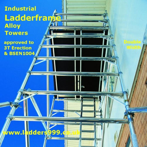 ET Ladderframe Alloy Towers - Double Width by Ladders999